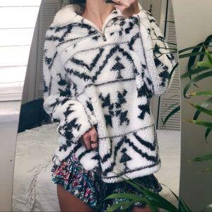Sweaters - Ultra Plush boho pullover